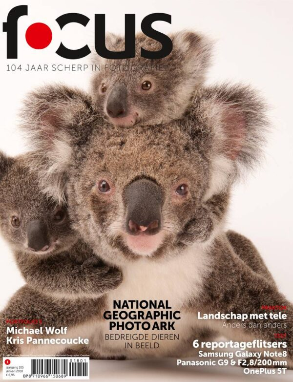 Focus Magazine fototijdschrift 1 2018 Cover