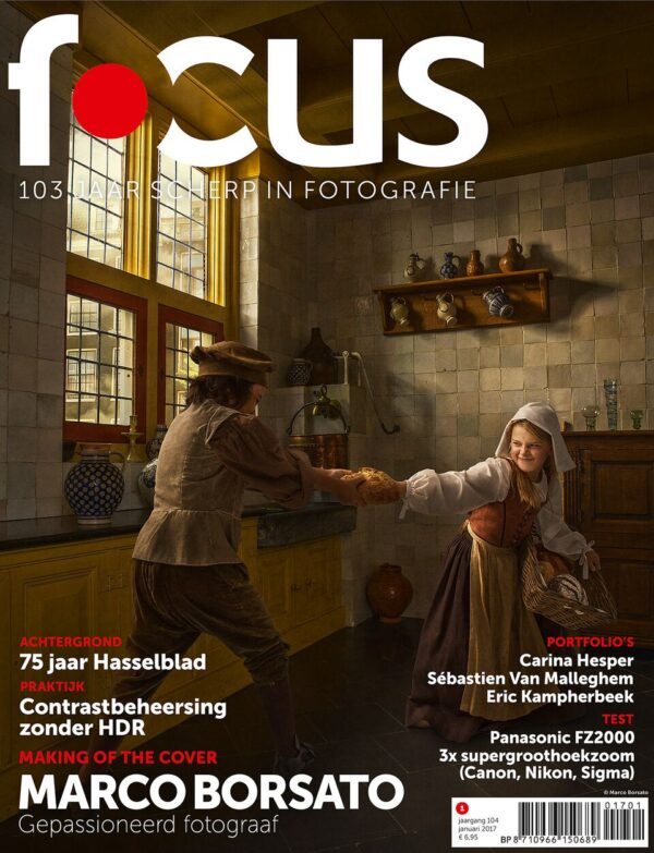 Focus Magazine fototijdschrift 1 2017 Cover