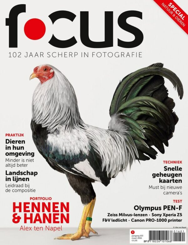 Focus Magazine fototijdschrift 3 2016 Cover