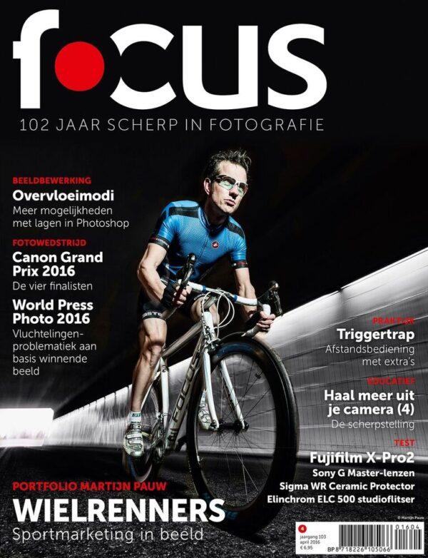 Focus Magazine fototijdschrift 4 2016 Cover