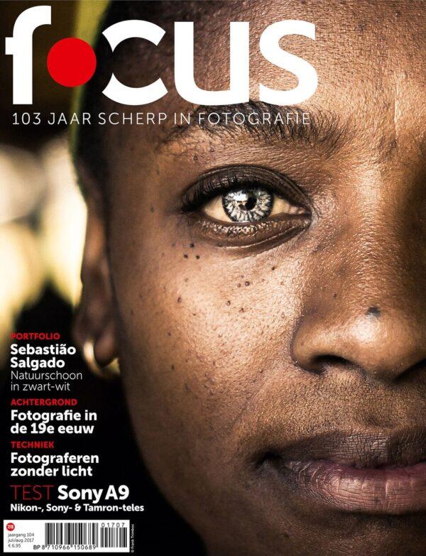 Focus Magazine fototijdschrift 7/8 2017 Cover