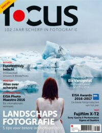Focus Magazine fototijdschrift 9 2016 Cover