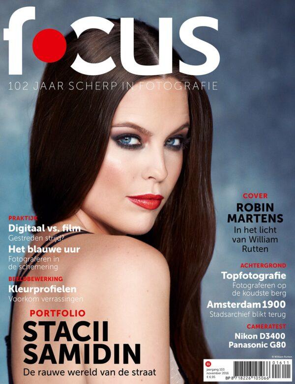Focus Magazine fototijdschrift 11 2016 Cover