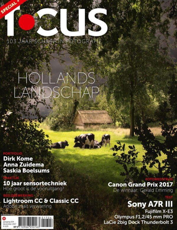 Focus Magazine fototijdschrift 12 2017 Cover