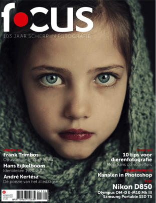Focus Magazine fototijdschrift 10 2017 Cover