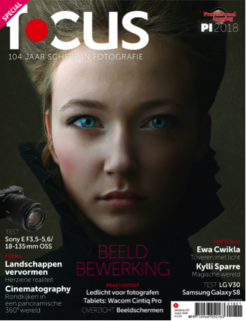 Focus Magazine fototijdschrift 3 2018 Cover