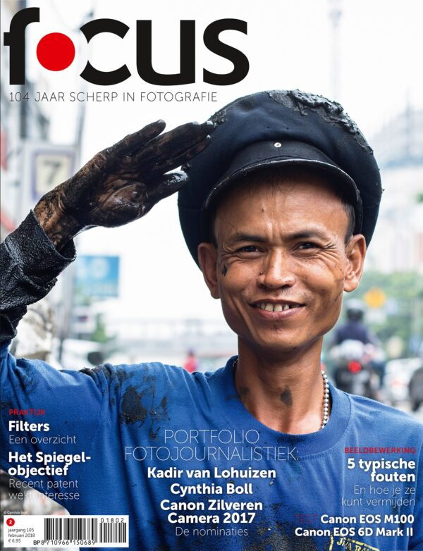 Focus Magazine fototijdschrift 2 2018 Cover