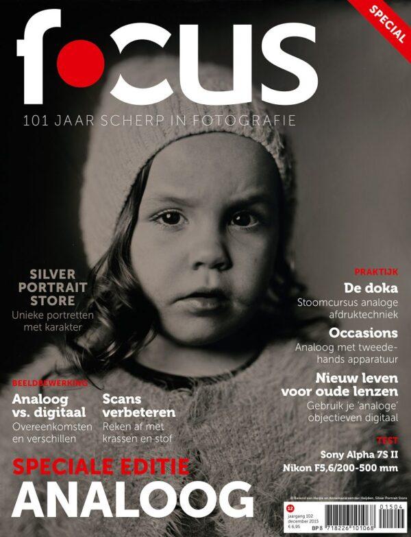 Focus Magazine fototijdschrift 12 2015 Cover