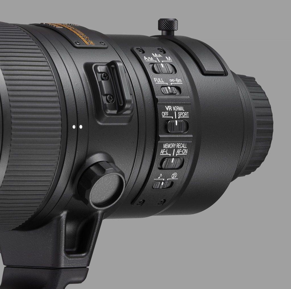 AF-S NIKKOR F4E/180-400mm, functies