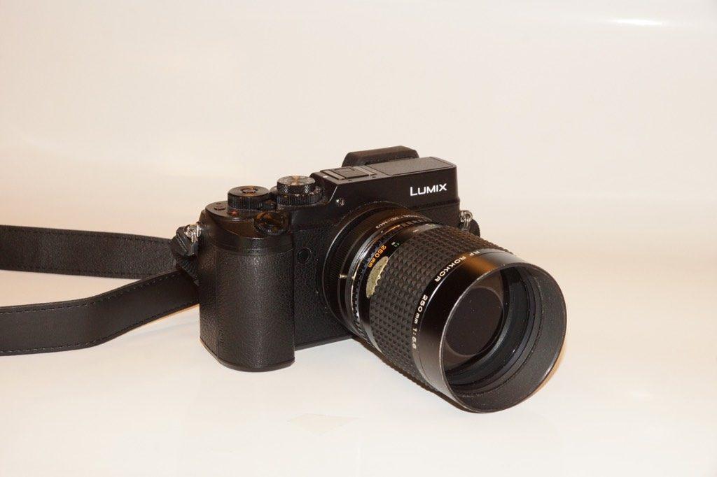 De Minolta RF Rokkor F5,6/250 mm