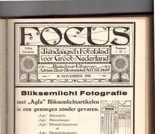 Focus 10 november 1918