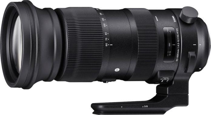 Sigma 60-600 mm