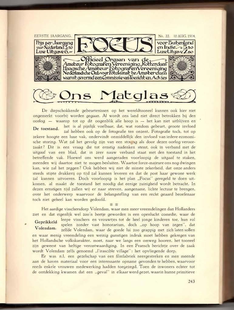 Focus 1914