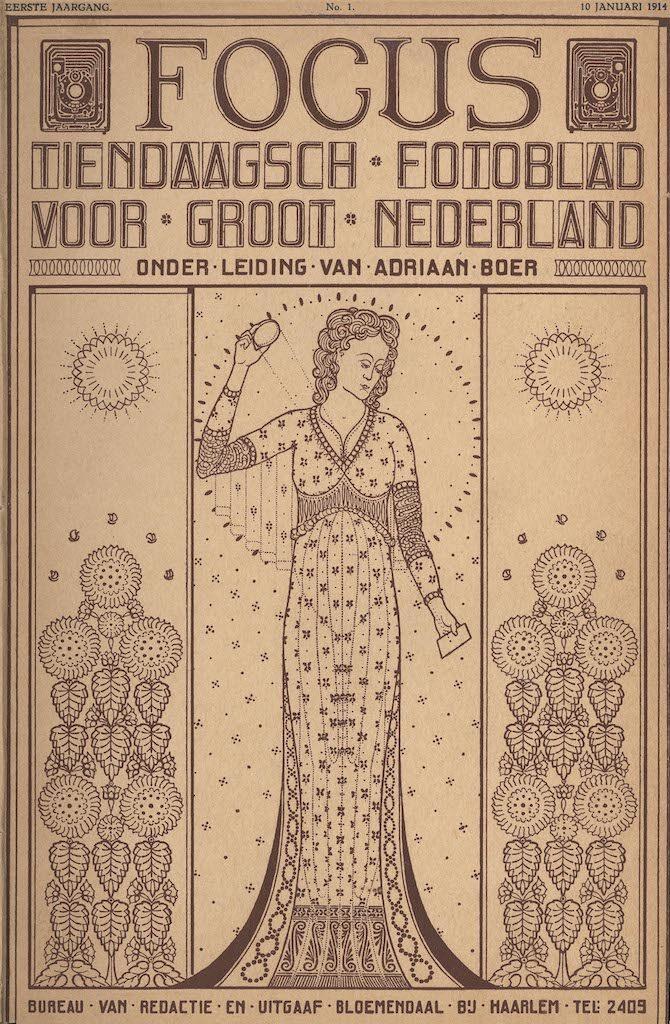 Focus Magazine fototijdschrift 1 1914 Cover