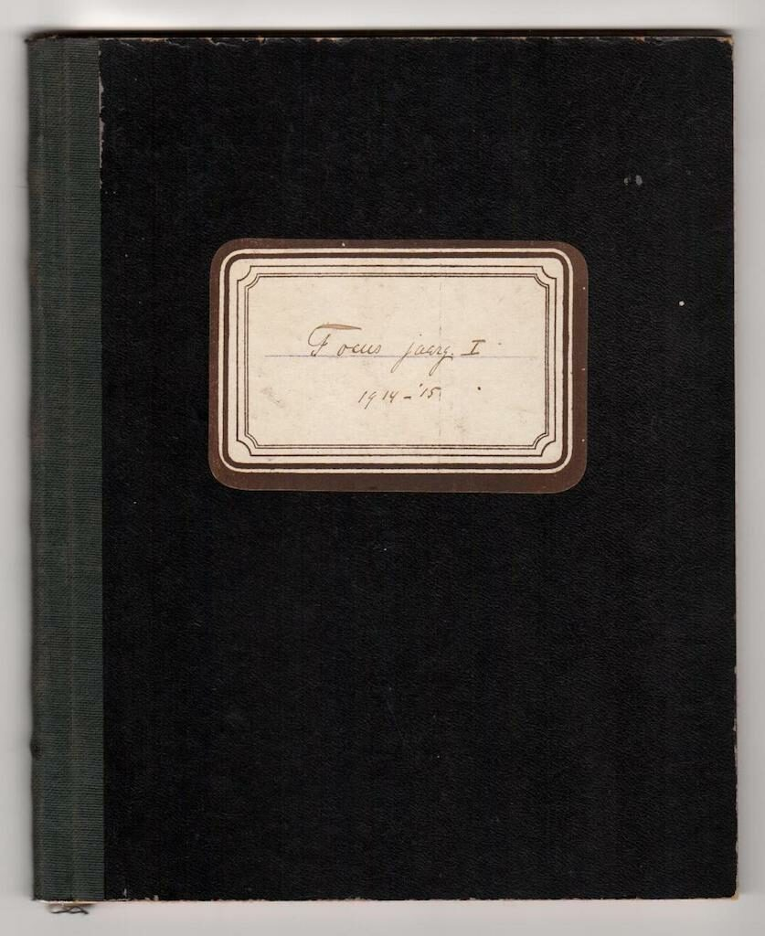 Focus kasboek 1914