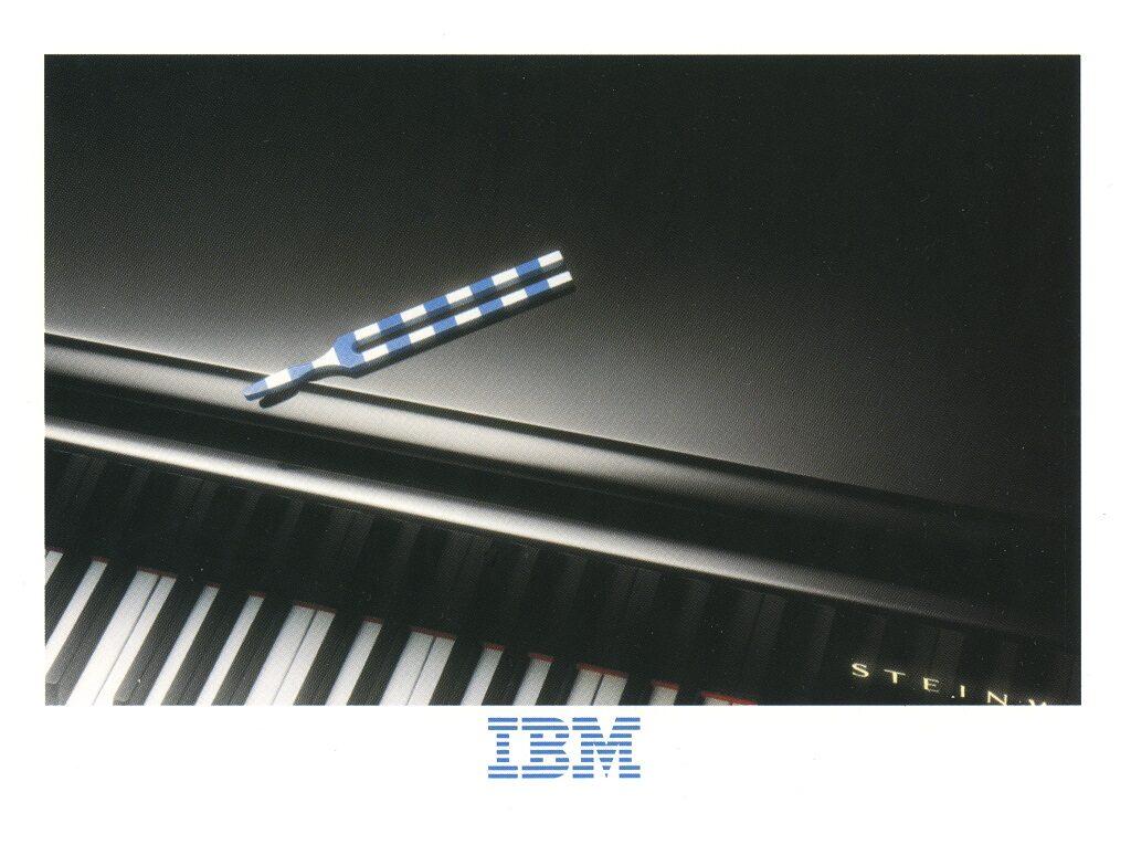 IBM piano