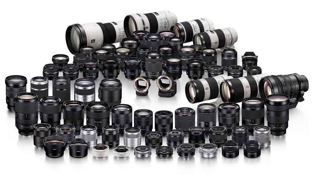 Sony lens lineup