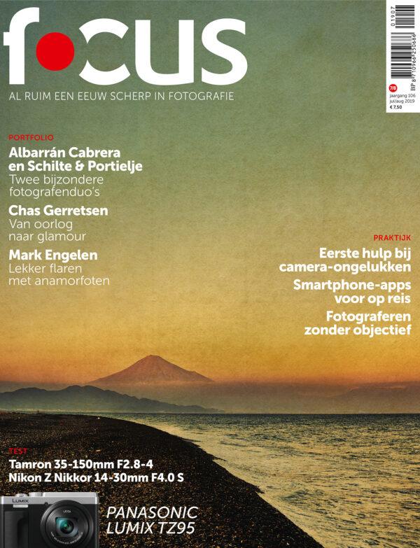 Focus Magazine fototijdschrift 7/8 2019 Cover