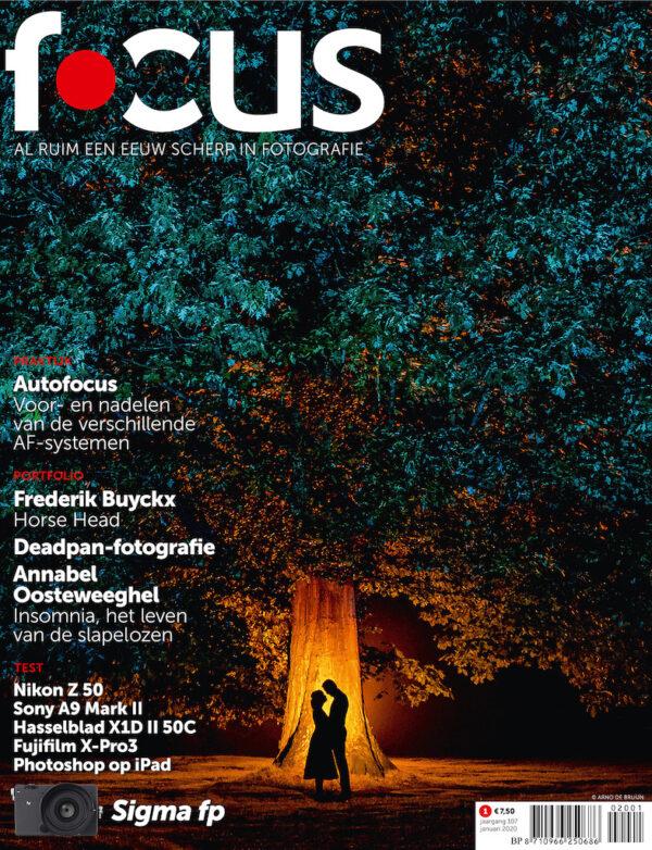 Focus Magazine fototijdschrift 1 2020 Cover