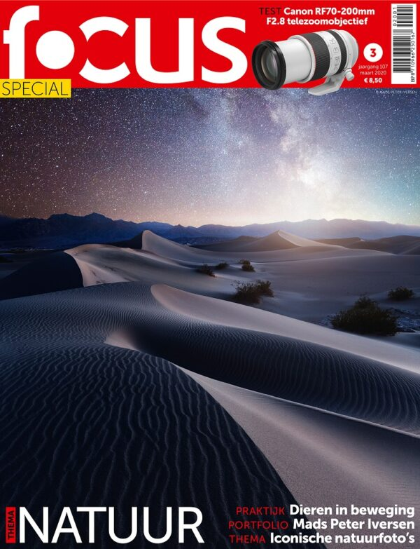 Focus Magazine fototijdschrift 3 2020 Cover