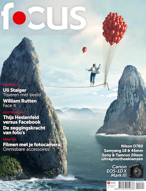 Focus Magazine fototijdschrift 4 2020 Cover