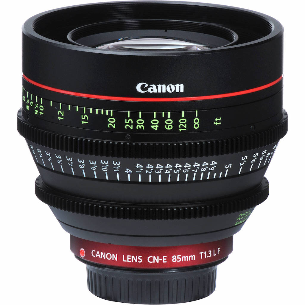 Canon 85mm T1.3 FF cineobjectief