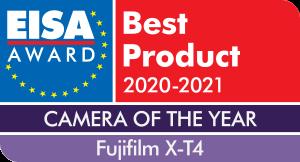 Eisa banner Best Product 2020-2021 Fujifilm X-T4