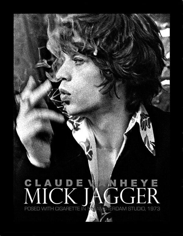 Litho Mick Jagger door Claude Vanheye